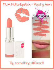 MUA LIPSTICK PEACHY KEEN MATTE JUICY ORANE CORAL LIP STICK MAKEUP
