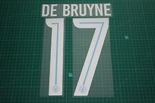 Manchester City 17/18 #17 DE BRUYNE AwayKit Nameset Printing