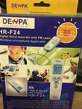 Denpa Digital Voice Recorder with FM Radio Wireless Microphone