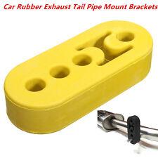 Car Exhaust Pipe Mount Rubber Brackets Hanger Insulator 12mm 4Holes Universal