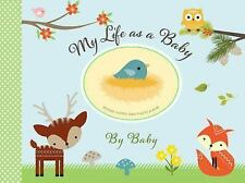 MY LIFE AS A BABY - RECORD KEEPER AND PHOTO ALBUM - WOODLAND FRIENDS