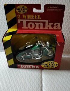 2 Wheel Tonka Indian Four Motorcycle 1:18 Die-cast Metal
