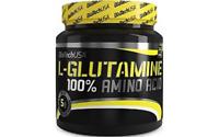 100% Glutamin Pulver 500g von BioTech USA für Muskelaufbau und Diät + Bonus