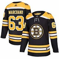 Brad Marchand #63 Boston Bruins Black & Yellow Hockey Jersey