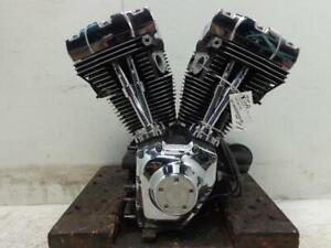 Harley Davidson Twin Cam 88 1450 ENGINE MOTOR (1999-2004 CASES HEAD) 1999