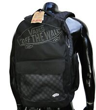 Vans Underrhill Black/Charcoal Mens Skateboard Backpack School Bag
