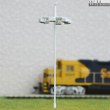 5 pcs OO or HO scale Model Lamp SMD LEDs made Plaza Lamppost Street Light layout