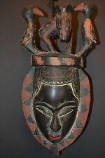 Baule Mask, Ivory Coast (#580)