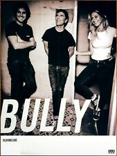 BULLY Losing 2017 Ltd Ed New HUGE RARE Tour Poster +FREE Indie Pop Rock Poster!