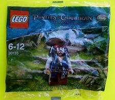 LEGO 30133 Pirata dei Caraibi Jack Sparrow con Tre punte Sacchetto plastica