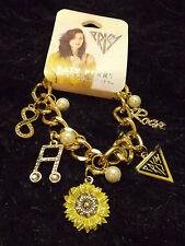 new gold tone Katy Perry rock charm bracelet fashion jewelry Prism