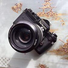 Cámara SLR Clásico Nikon Fe 35 mm Con Lente Nikkor 45-86 mm F3.5