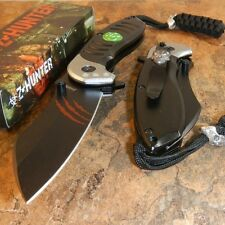 ZOMBIE HUNTER Spring Assisted Opening RED CLAWS Folding Pocket Knife NEW