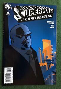 Superman Confidential #4 DC Comics Modern Age Darwyn Cooke Tim Sale vf/nm