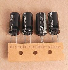 4pcs 2200uf 10v Radial Electrolytic Capacitor 10v2200uf Panasonic JAPAN