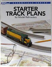 Starter Track Plans for Model Railroaders