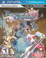 RAGNAROK ODYSSEY MERCENARY Collector Set PS VITA PSV NOT SEALED CARDS INSIDE