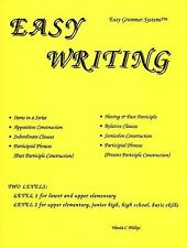 Easy Writing Teaching Students How to Write Complex Sentence Structures, Wanda C