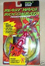 Claw jaw Octopus TF Transformers Beast wars Kenner 1997