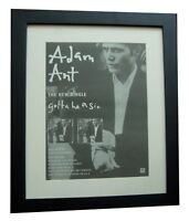 ADAM ANT+Sin+Wonderful+POSTER+AD+ORIGINAL 1995+QUALITY FRAMED+FAST GLOBAL SHIP