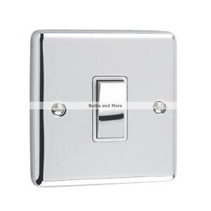 Windsor Range - Polished Chrome Sockets and Switches White Trim