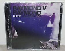 2 CD USHER - RAYMOND V RAYMOND - DELUXE - NUOVO NEW