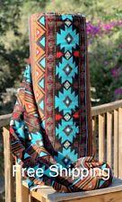 Fleece Fabric Navajo Native Fabric Anti-pill Velour face