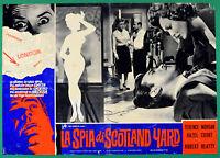 T64 Fotobusta Die Licht Von Scotland Yard Terence Morgan Hazel Court Robert 2