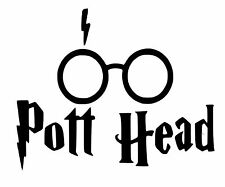 Harry potter pott head cut vinyl wall art autocollant/autocollant