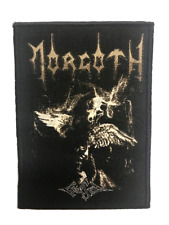 Morgoth Official WOVEN PATCH Cursed - WOVEN SEW-ON PATCH - Teutonic Death Metal