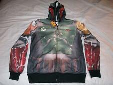 Boba Fett Armor Star Wars Hoodie Adult X-Small XS NWT Jacket Costume Cos-Play