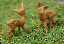 """Deer - 1/2"""" Tall - 10 Pcs Set - Hand crafted in Germany!"""