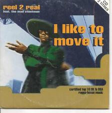 CD SINGLE 2 TITRES--REEL 2 REAL--I LIKE TO MOVE IT--1994