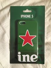 iPhone 5 Heineken Beer Phone Case Red Star- RARE