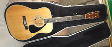 YAMAHA FG-345 II Acoustic Electric Guitar w/ Case 1982