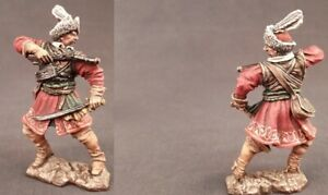Tin toy soldiers ELITE painted 54 mm Polish dragoon, 17th century