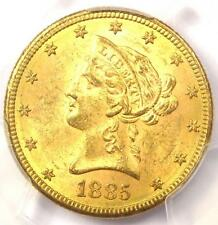 New listing 1885-S Liberty Gold Eagle ($10 Coin) - Pcgs Ms63 - Rare in Ms63 - $3,000 Value!