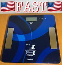 Body Fat Analyzer TaoTronics Bluetooth 4.0 Digital Bathroom Scale Measures