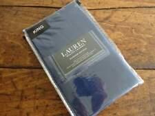 PR Ralph Lauren Cotton Dunham Sateen Pillowcases Cadet Blue (Navy) King -