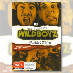 Complete WildBoyz Collection Season 1 2 3 4 DVD Box Gold Foil Slipcase Edition