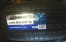 1x 215 55 16 97W Bridgestone Turanza ER300 XL,  DOT; 0412