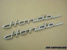 HONDA S600 S800 CHROME EMBLEM 1PAIR // Reproduction