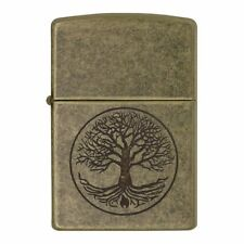 Zippo 29149 Windproof Lighter Tree Of Life Antique Brass Finish