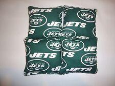 4 Cornhole Bag Set  Corn  Hole Toss  New York Jets