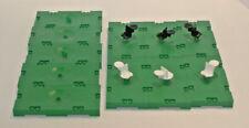 11 Lego Soccer Football plates with kickers 3409