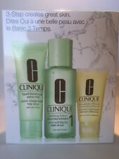 Clinique 3 Step System - 2- Dry Combination Skin Type 3 piece set