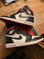 Nike Air Jordan 1 Retro High OG NRG Size 12 No Ls Not For Resale BRED 861428-106