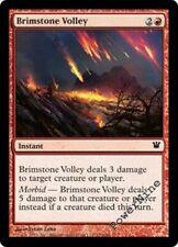 4 FOIL Brimstone Volley - Red Innistrad Mtg Magic Common 4x x4