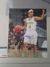 Skylar Diggins Signed 11x14 Wnba Photo Auto Autographed Psa/Dna Itp Coa Si Model