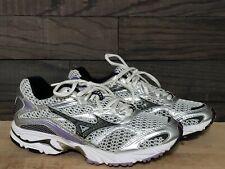 Mizuno Wave Nexus 5 Purple gray and white8KN-15168 Running Shoes Women's size W6